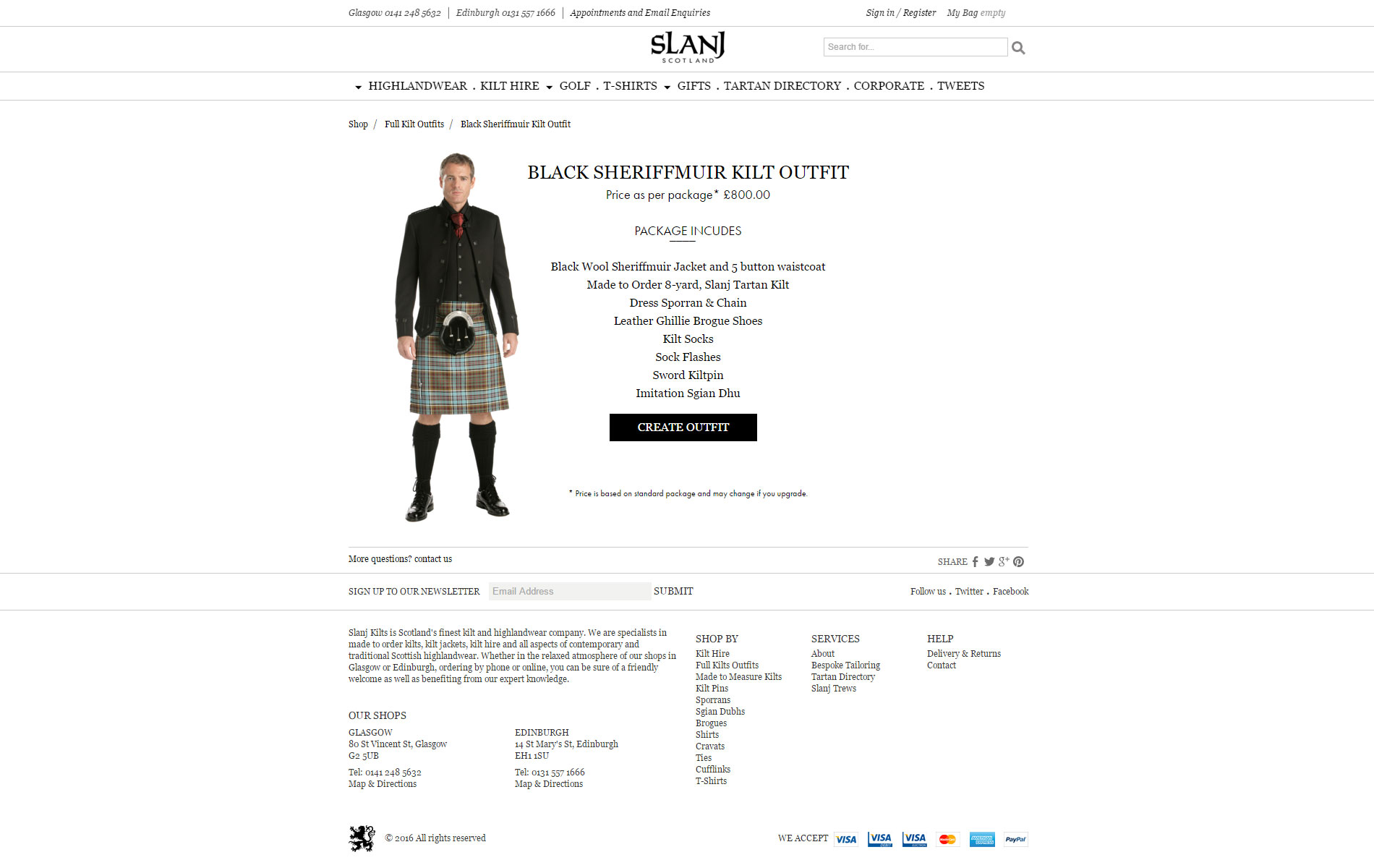 Slanj Kilts screenshot